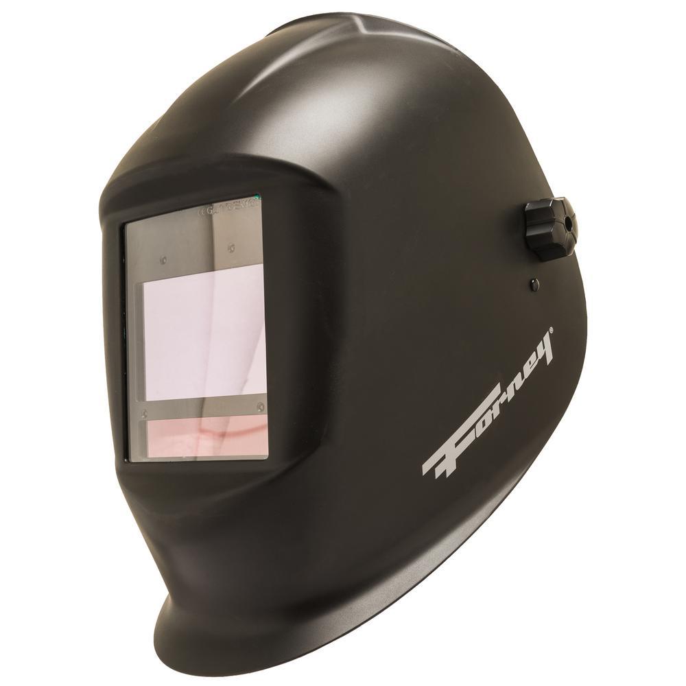 Master Series Black Matte Auto-darkening Welding Helmet
