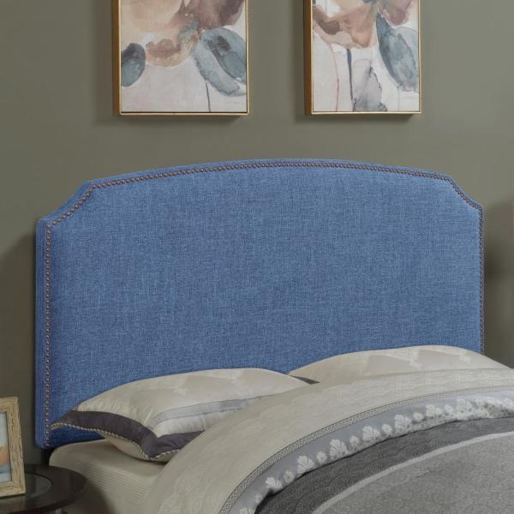 American Woodcrafters Simone Ocean Full/Queen Upholstered Headboard U-31201-FQHB-3D