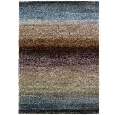 Layers Rainbow 6 ft. 7 in. x 9 ft. 8 in. Area Rug