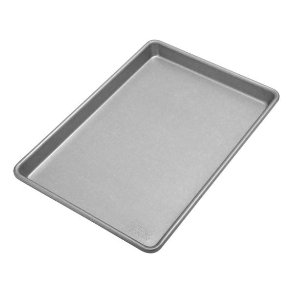 Chicago Metallic Commercial II Traditional Uncoated True Jelly Roll Pan 49150