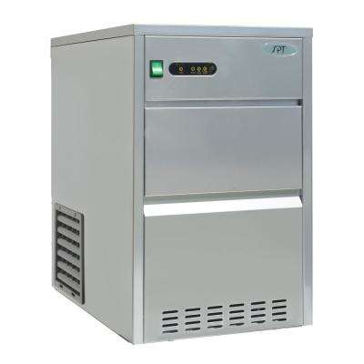 66 lbs. Automatic Stainless Steel Ice Maker