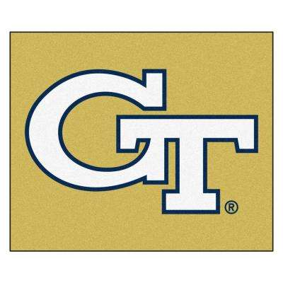 Georgia Tech University 5 ft. x 6 ft. Tailgater Rug