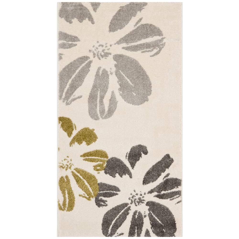 Porcello Ivory 2 ft. x 3 ft. 7 in. Area Rug