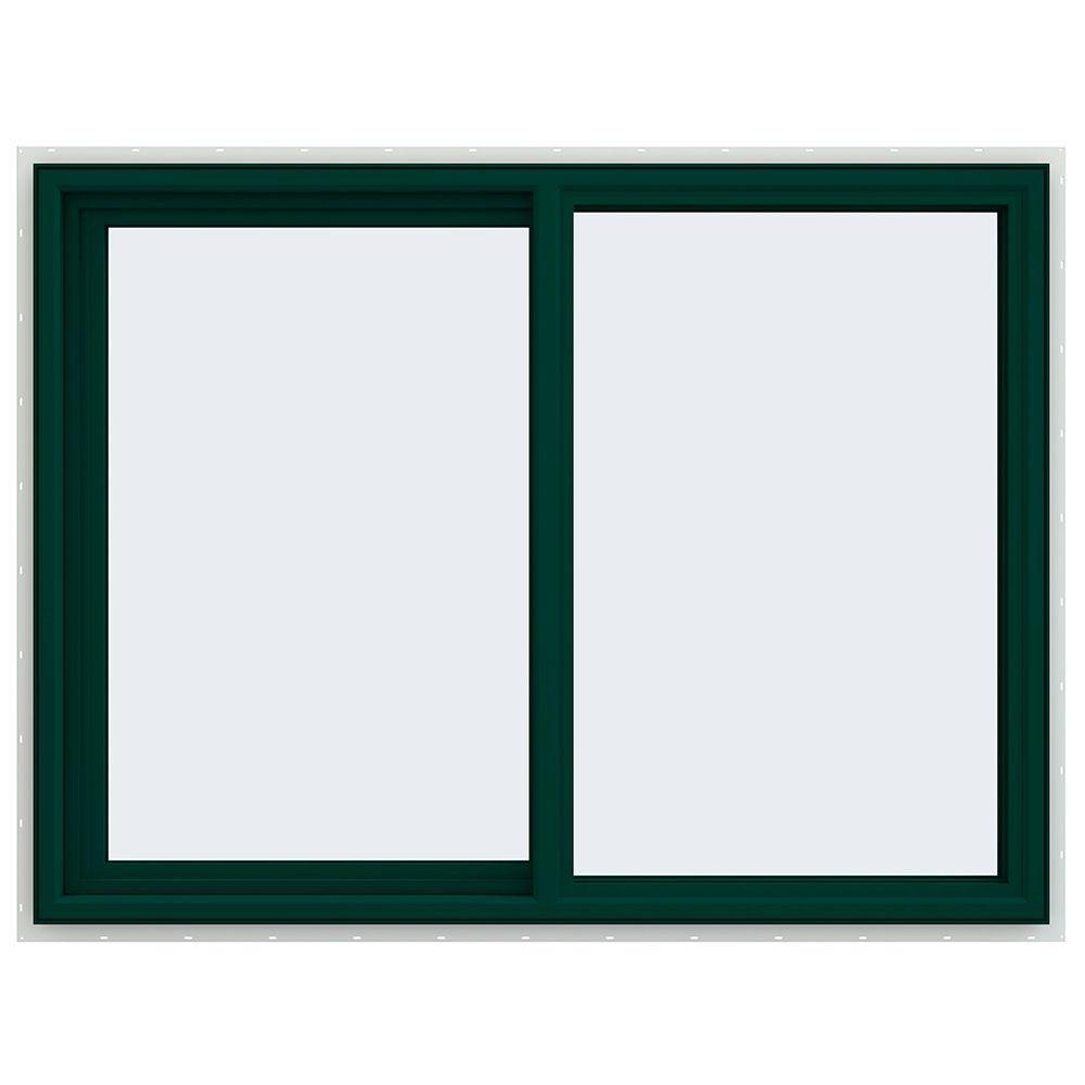 47.5 in. x 35.5 in. V-4500 Series Left-Hand Sliding Vinyl Window