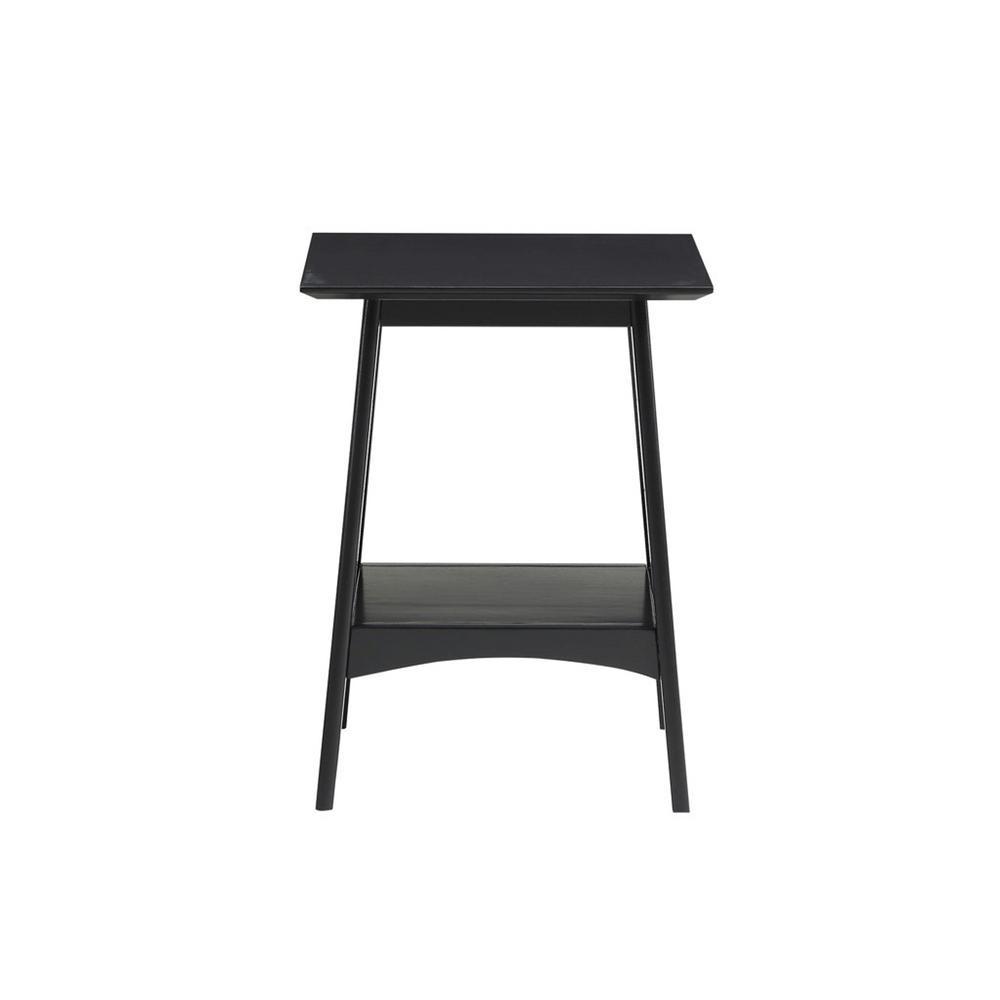 Alpine Black End Table