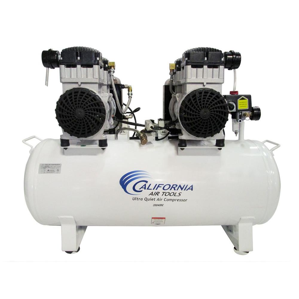20 Gal. 4.0 HP Ultra Quiet and Oil-Free Electric Stationary Air