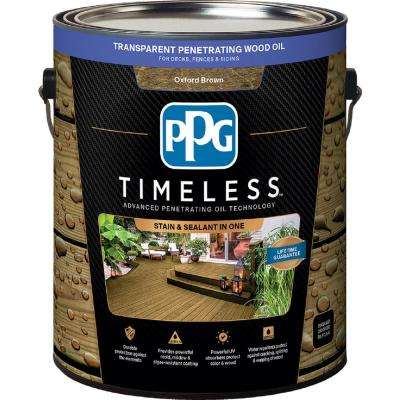 Tpo 14 Oxford Brown Transpa Penetrating Wood Oil Exterior Stain Low Voc