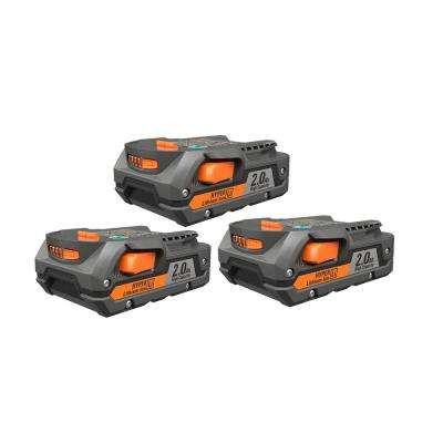 18-Volt 2.0Ah Lithium-Ion Battery (3-Pack)