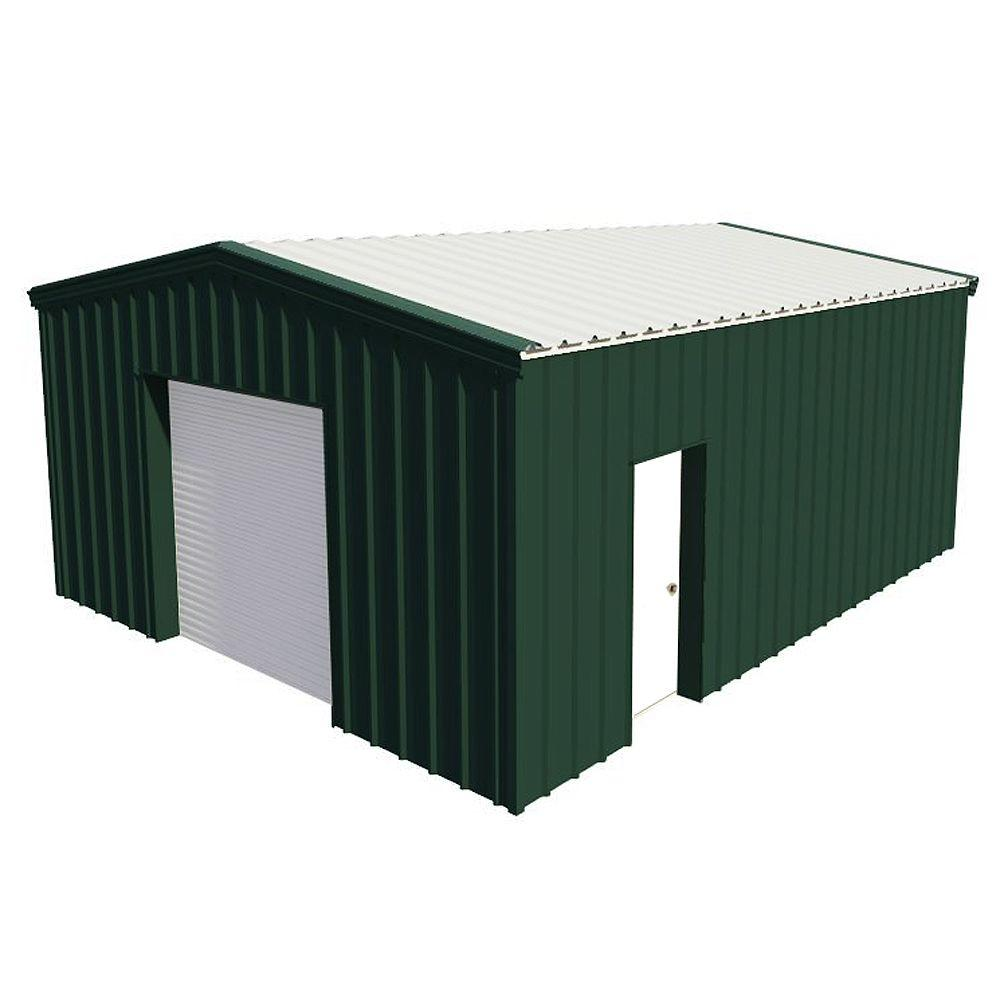 Heritage Building Systems 20 ft. w x 24 ft. l x 10 ft. h Steel Building-DISCONTINUED