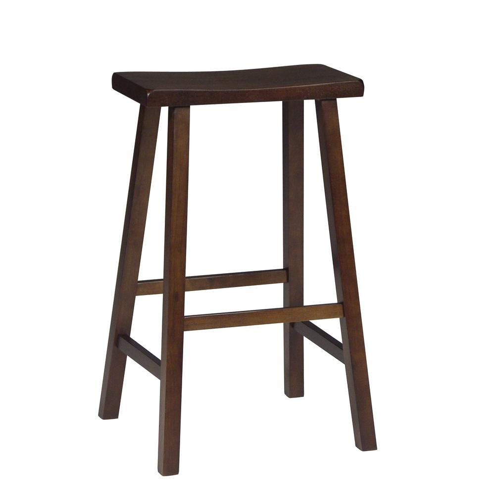 International Concepts 30 In Walnut Bar Stool 1s61 683