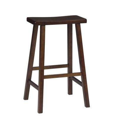 30 in. Walnut Bar Stool