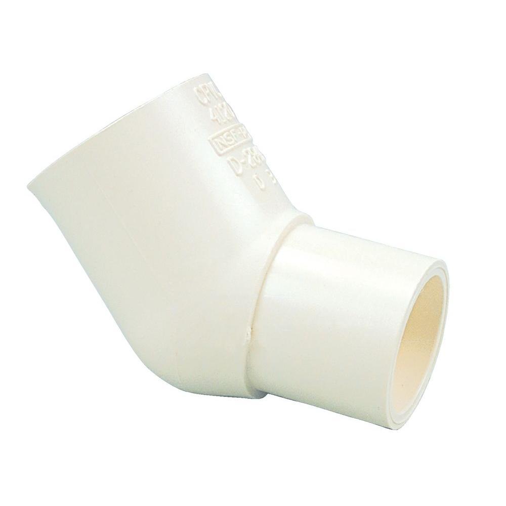 1/2 in. CPVC CTS 45-Degree Spigot x Slip Street Elbow Fitting