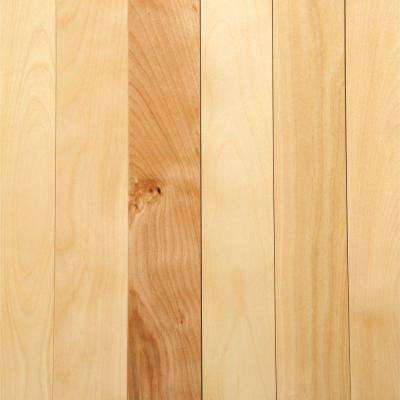 Take Home Sample - Northern Birch Natural Solid Hardwood Flooring - 3-1/4 in. x 4 in.