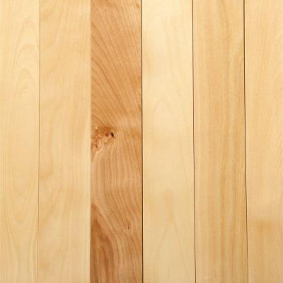 Take Home Sample - Canadian Northern Birch Natural Solid Hardwood Flooring - 2-1/4 in. x 4 in.