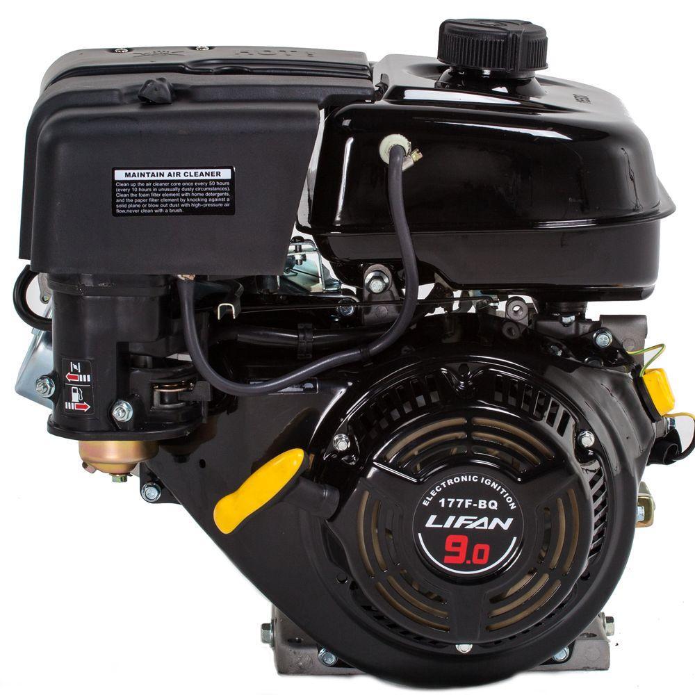 LIFAN 1 in  9 HP 270cc OHV Recoil Start Horizontal Keyway