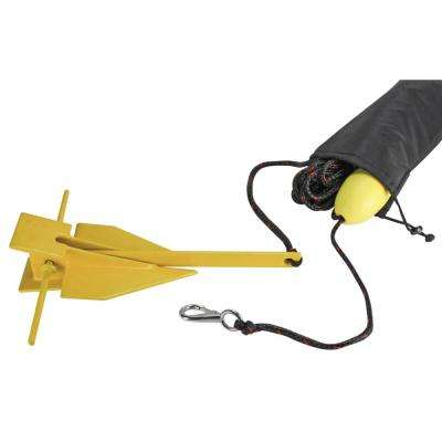 8 lbs. BoatTector Complete Mushroom Anchor Kit with Rope and Marker Buoy