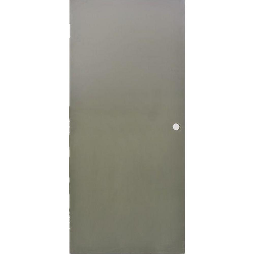 Nice Krosswood Doors 36 In. X 80 In. DKS Flush Primed Gray Steel Commercial Door