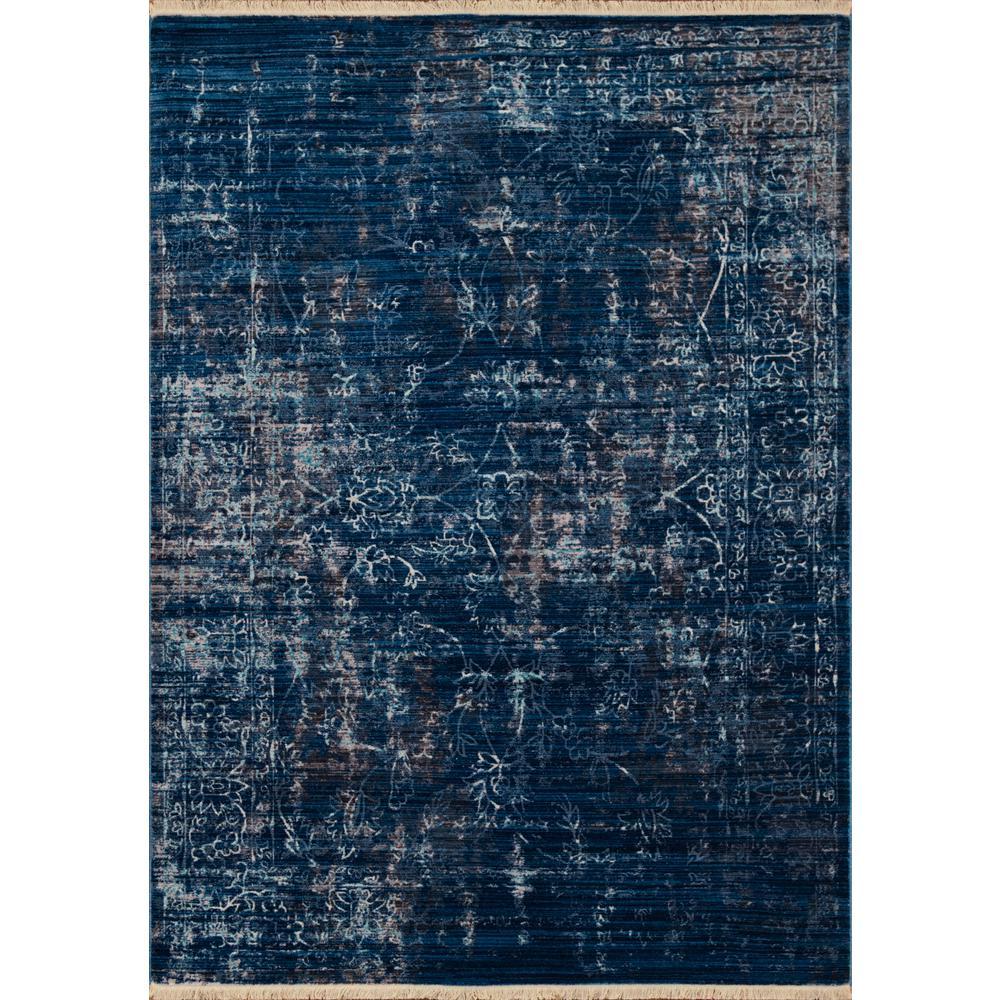 Monaco Cache Midnight Blue 10 ft. x 13 ft. Area Rug