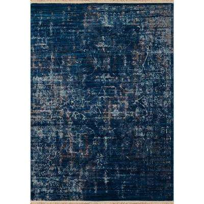 Monaco Cache Midnight Blue 13 ft. x 15 ft. Oversize Area Rug