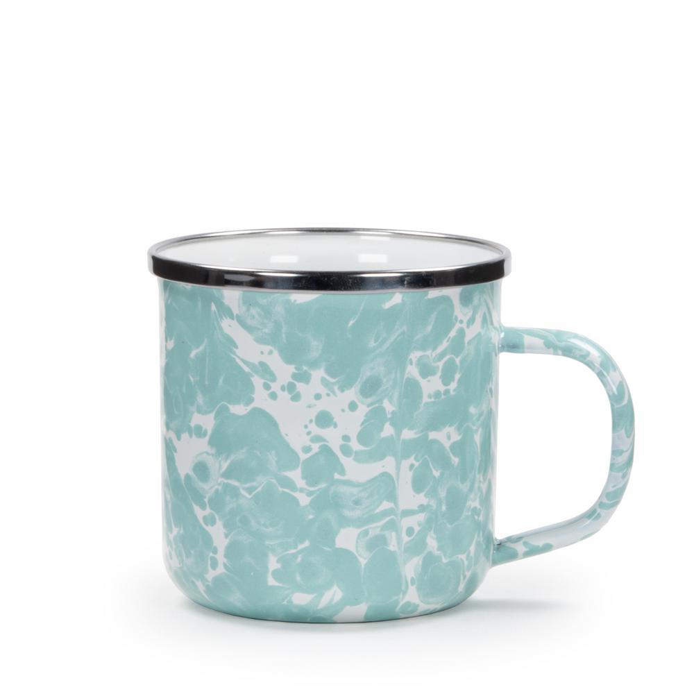 Sea Glass 12 oz. Enamelware Coffee Mug