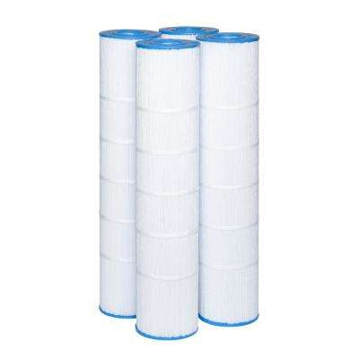 7 in. Dia Pentair Clean and Clear Plus R173578 125 sq. ft. Replacement Filter Cartridge (4-Pack)
