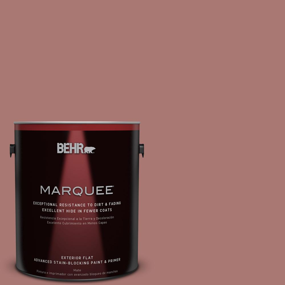 BEHR MARQUEE 1-gal. #160F-5 Rum Spice Flat Exterior Paint