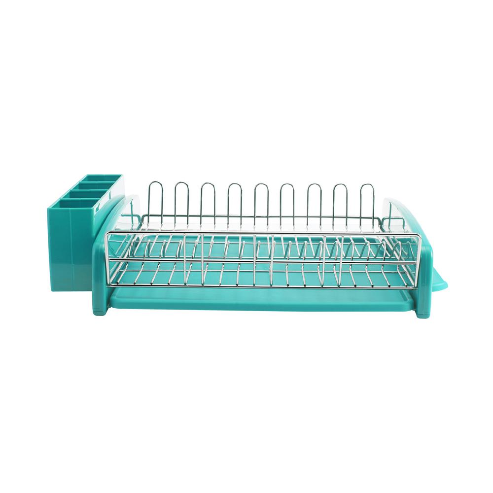 21.5 in. D x 4.8 in. W Dish Rack (3-Piece)