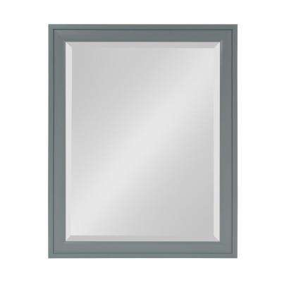 Bosc Rectangle Gray Mirror