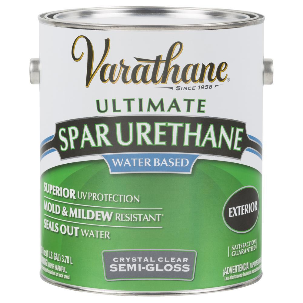 Varathane Spar Urethane Water-based Semi-gloess