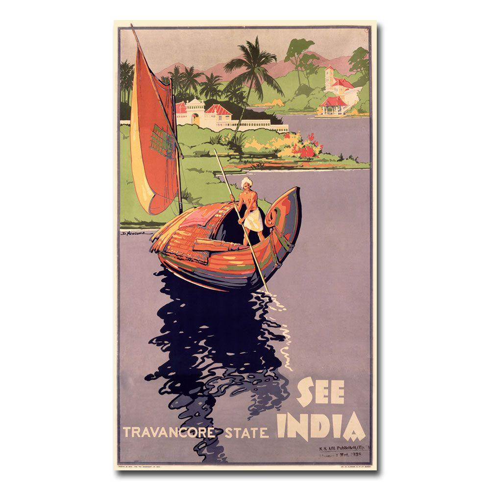 47 in. x 30 in. See India Canvas Art