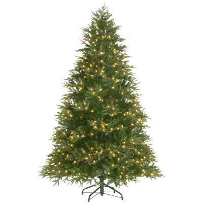7.5 ft. Pre-Lit Majestic Fir with Color Changing Lights