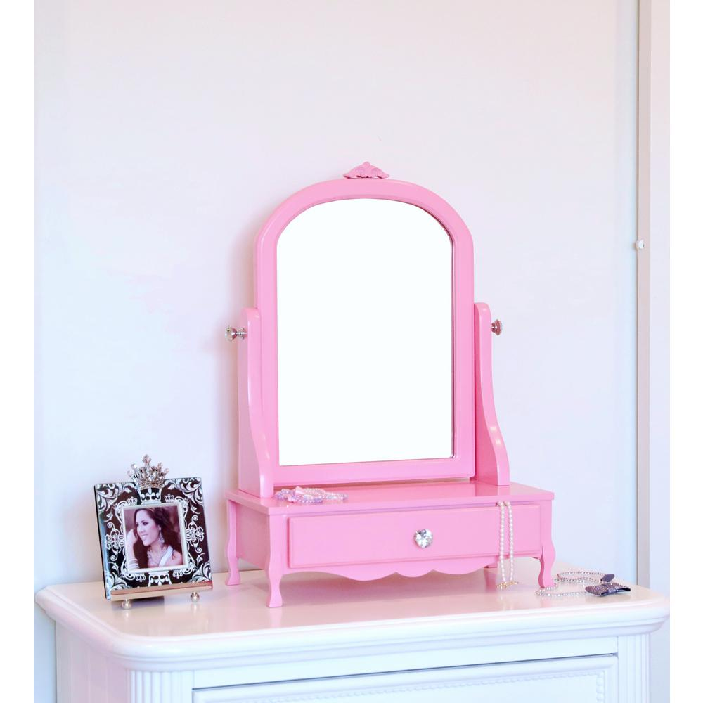 Megahome Mill Valley Pink Vanity