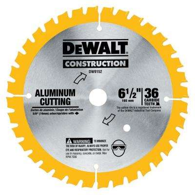 6-1/2 in. 36-Tooth Aluminum Cutting Blade