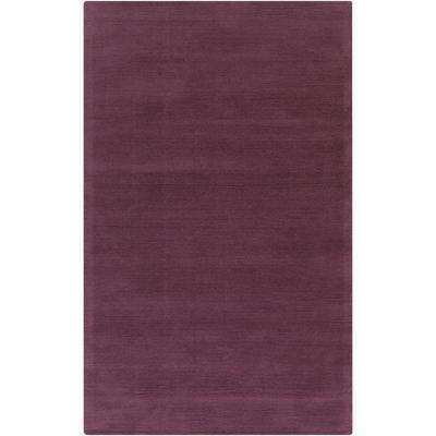Falmouth Eggplant 6 ft. x 9 ft. Indoor Area Rug