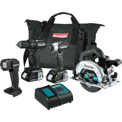 18V LXT Lithium-Ion Sub-Compact Brushless Cordless Combo Kit (1.5Ah) (4-Piece)