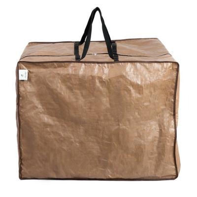 32 in. L x 32 in. W x 24 in. H Waterproof Outdoor Cushion Cover and Protective Zippered Storage Bags