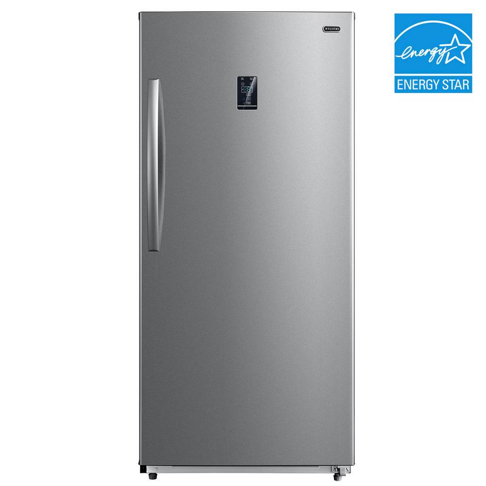 Energy Star Digital Upright Convertible Deep Freezer Refrigerator Stainless