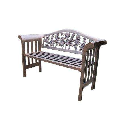 Tea Rose Royal Patio Bench