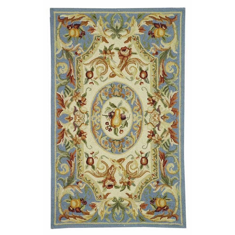Chelsea Blue 2 ft. 6 in. x 4 ft. Area Rug