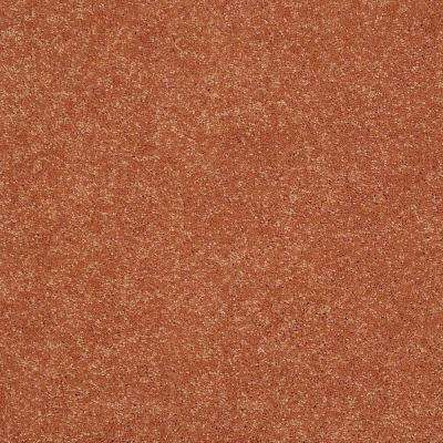 Carpet Sample - Cressbrook III - In Color Melon 8 in. x 8 in.