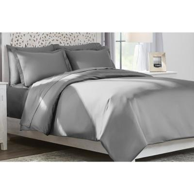 400 Thread Count Soft Touch Sateen Egyptian Cotton Duvet Cover Set