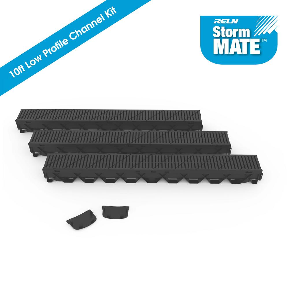 Storm Mate Low Profile 5 in. W x 3 in. D