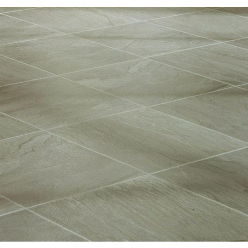 null Green Slate Laminate Flooring - 5 in. x 7 in. Take Home Sample-DISCONTINUED