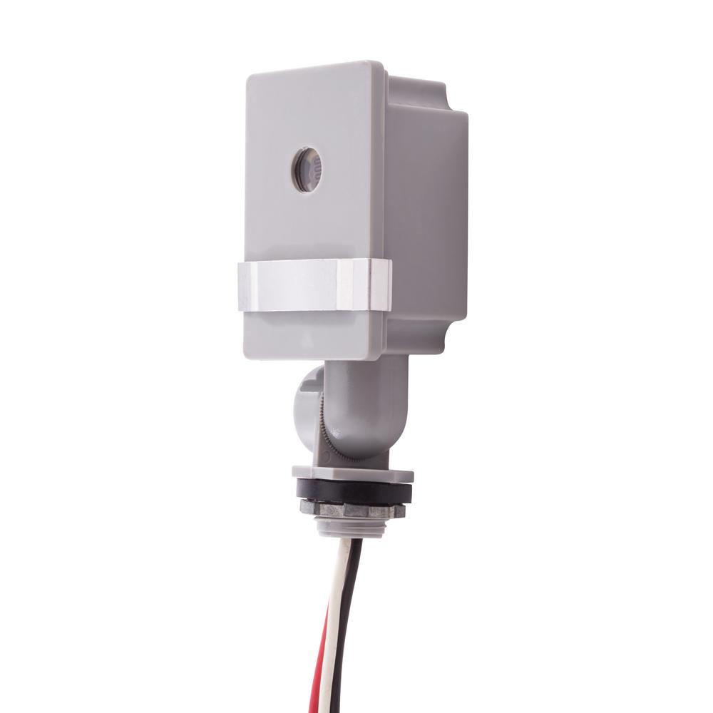 Photocells outdoor lighting accessories outdoor lighting the 120 volt ledcfl swivel mount photo control workwithnaturefo