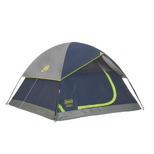 Click here to buy Coleman Sundome 9 ft. x 7 ft. 4-Person Dome Tent by Coleman.