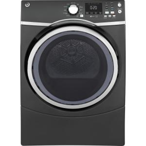 7.5 cu. ft. Capacity Front Load Electric Dryer with Steam in Gray