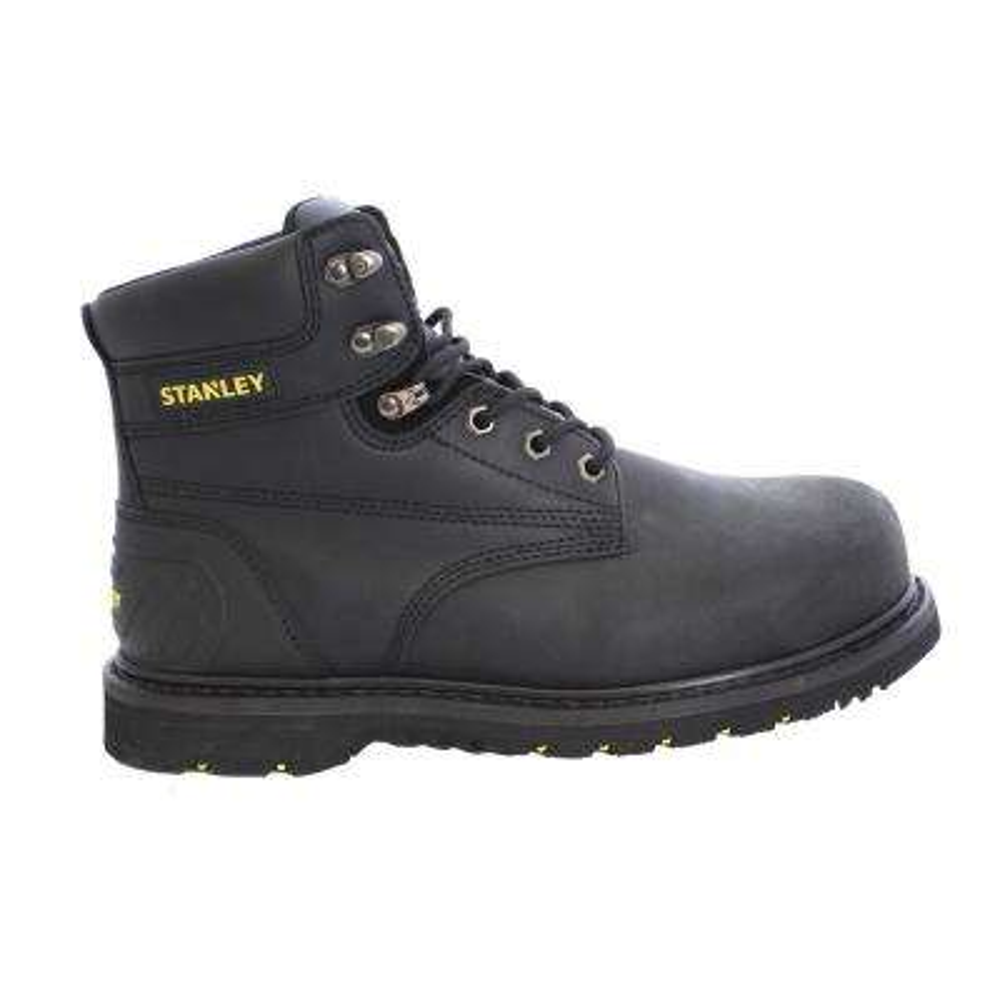 Pro Lite Men 6 in. Size 7.5 Black Leather Steel Toe Work Boot