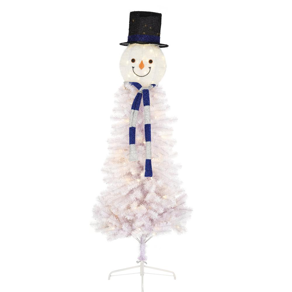 Home Accents Holiday 6.5 Ft. Pre-Lit Snowman Head