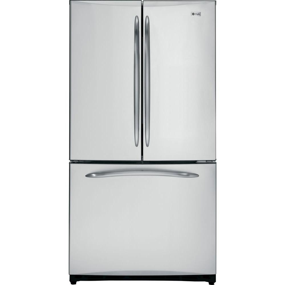 GE Profile 20.7 cu. ft. French Door Refrigerator in Stainless Steel, Counter Depth