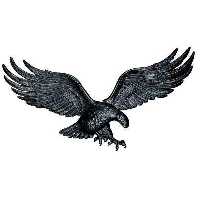 36 in. Black Wall Eagle